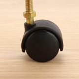 [문고리닷컴] PVC캐스터(볼트식,40Ø) 가구부속/가구바퀴/캐스터/바퀴