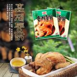 하림 훈제통닭 550g / 질 좋은 국내산 통닭을 훈연한 제품