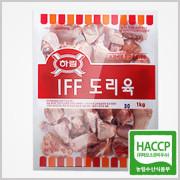하림 IFF 닭도리육 1kg×1봉 / 먹기좋게 잘라져있는 제품 / 닭볶음탕 / 닭조림
