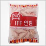 하림 IFF 냉동 안심 1kg / 지방이 거의 없는 닭가슴살 안쪽부위