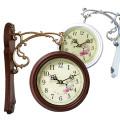 유러피안 감성의 엔틱 양면시계