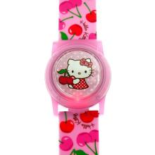 (일본직수입) 헬로키티 라이트업 체리 손목시계