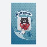 일본 직수입-휴대폰 클리너 / 하트고양이 ( 携帯クリーナー/白黒猫ハート)