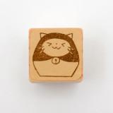일본 직수입 100% 핸드메이드-마트료시카 고양이 스탬프 (ダルマトリョーシカ)