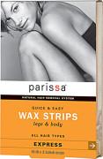 [패리사] Parissa 왁스 스트립 다리 제모 패치 (16개입) / Legs and Body