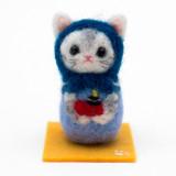 일본 직수입-고양이 마트료시카 / 마린 (猫マトリョーシカ/アップリケ・マリン)100%수제,핸드메이드