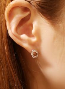 [바닐라슈] 워터드롭 귀걸이
