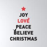 [Basic] 크리스마스 레터링-joy love
