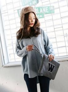 [코코베른]KNF659-big pocket shirts/가오리스타일/기본셔츠/오버핏/롱셔츠/겨울남방