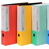문화산업 F526-7 PP 듀플렉스 클리어화일 100매 A4 리필가능 대용량