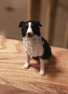 [보더 콜리 유골보관함] - 애완동물 장례 / 반려동물 장례 / 애견장례 / 애완견장례 / 고양이 장례 / 강아지 장례 / 강아지 유골함 / 스톤 보관함