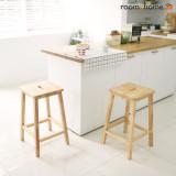 [한정수량]사각사각바스툴 원목아일랜드식탁의자 카페의자 디자인체어