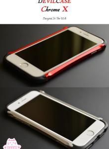 데빌케이스 티타늄엑스 크롬엑스 타입엑스 아이폰6S범퍼케이스 아이폰6S플러스 범퍼케이스 알루미늄 메탈