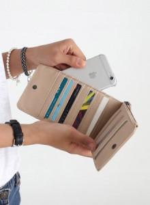 [바닐라슈] 코프 메쉬 카드장지갑(5color)