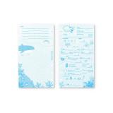 해중산보 스쿠버 다이빙 로그북 속지 :: 해양