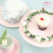 러프리 헤라 화관 /셀프 웨딩, 화이트 장미