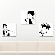 오드리햅번 모음 인테리어 액자 사진/일러스트/흑백사진/티파니에서아침을 [Audrey Hepburn]