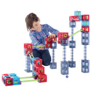 큐볼루션 어드밴스 64P /골드버그장치/어린이날선물/크리스마스선물/롤링볼/자석블럭/교육교구/Qvolutioin