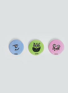 [위알낫몬스터즈]몬스터 뱃지 세트 - Monster badge set(버튼)