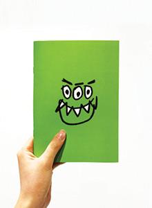 [위알낫몬스터즈]몬스터 무지 노트 - Monster note
