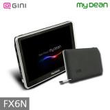 [마이딘] FX6N 5인치 소형 내비게이션 8G/내장배터리/후방카메라 연동/전용도로회피