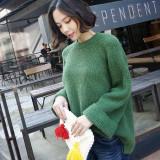 [코코베른]KF123/color rollup knit/겨울니트/롤업소매/여성니트/루즈핏/데일리니트