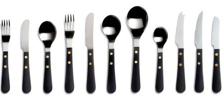 David Mellor Provençal Black Cutlery