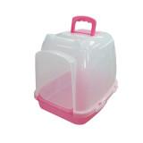 신한 후드형 고양이화장실 (ATH-60/핑크)