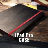 아이패드 프로 가죽 우드 명품케이스 / BLACK Bubinga for iPad Pro