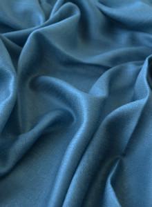 블루 그레이 - 턱수염 퓨어 파시미나 Pashmina 인도 카쉬미르 수작업 제작 천연소재 고급 캐시미어 머플러 전통 천연염색 머플러 인도 파시미나