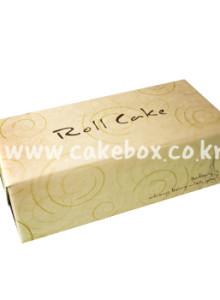 롤케익1호 박스 크라프트 (롤케익박스/롤케익상자/롤케익포장/cake box)