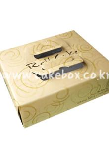 롤케익2호 박스 크라프트 (롤케익박스/롤케익상자/롤케익포장/cake box)