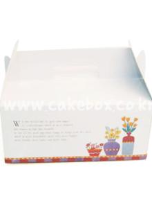 생크림 대(大) (조각케익상자/조각케익박스/조각케익박스/cake box)