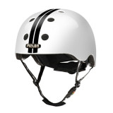 BMX 헬멧하면 [MELON] 스트라이프 (스트레이트 블랙/화이트) [당일배송] 훈바