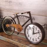 빈티지 메탈 자전거 시계 / LOFT / 철제시계 / 무소음 / 집들이 선물
