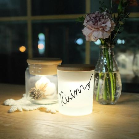 Lettering Cap lamp