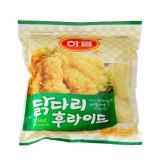 하림 닭다리 후라이드 1,000g / 살코기가 많은 닭다리를 통째로 튀긴제품