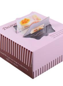 케익박스 핑크시리즈 2호/4호 (케익상자/케익박스/케익포장/cake box)