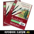 [파브리아노] 아카데미아 드로잉북 200g A5 30매 (AC04/AP01)
