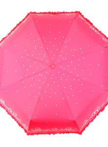 헬로키티 3단 보더 리본 우산(3컬러)