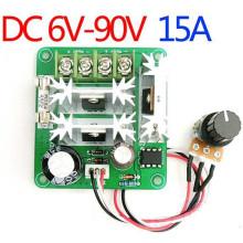 A6B DC모터 PWM 속도제어기 6-90V 15A 직류 드라이브