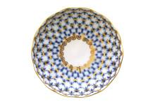(예카 공구) 17. 튤립 코발트넷 잼접시, 로모노소프 임페리얼 포세린 예쁜그릇