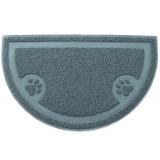 SPET 리터 캡쳐매트 현관매트 발바닥매트 모래매트 - 그레이/반원형 (60 x 36cm)