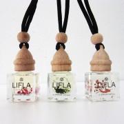 알콜이 들어있지 않아 3배 오래 사용하는 라이플라 차량용 방향제 LIFLA (미니 플라워 디퓨저)