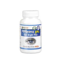 그린스토어 아이브라이트플러스 씹어먹는 간편한 눈 영양 60정