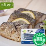 [이팜] 녹차숙성 고등어모듬(바다마을)(350g)