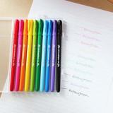 디자인소머즈 / Rainbowjellpen10본세트 / 볼펜 / 컬러펜 / 펜