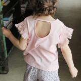 [코코베른]cb274 플로 태슬 보니타 티셔츠 / 핑크 5~13호