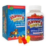 [30% 할인] [공식수입품 리뉴얼 신제품] 야미베어스 멀티비타민 앤 미네랄 1통 (90꾸미, 45일분) / 말랑말랑 맛있는 젤리 비타민 / 얌미베어, 구미베어 / 어린이 비타민