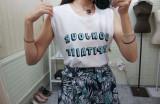 봉쥬르 나시 티셔츠